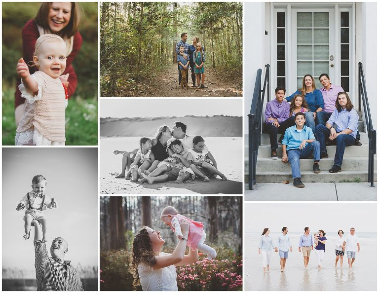 family photography in the Wilmington NC area