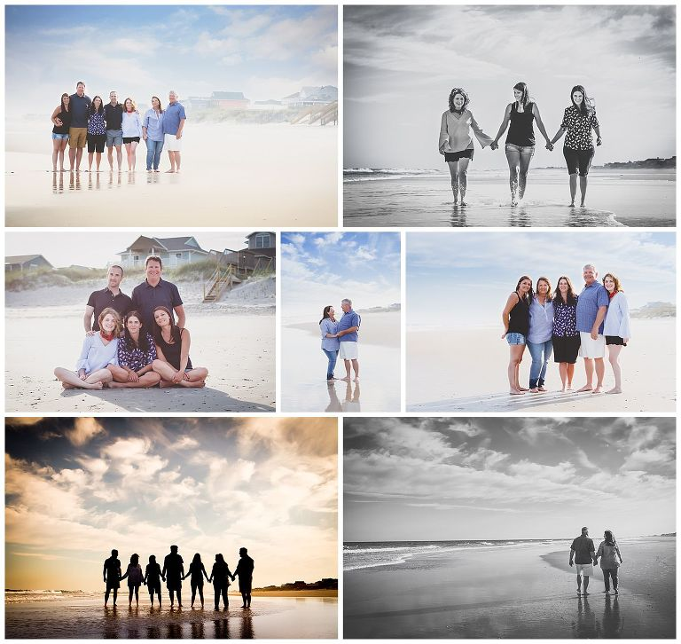 Topsail Island Family Vacation Photographer