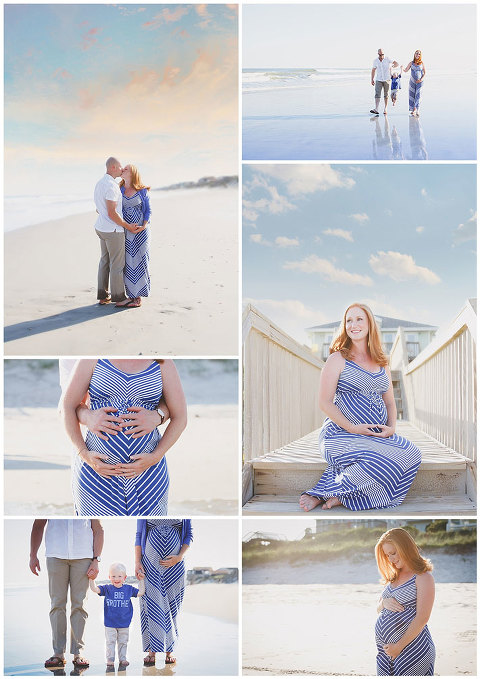 Topsail Island Maternity Session