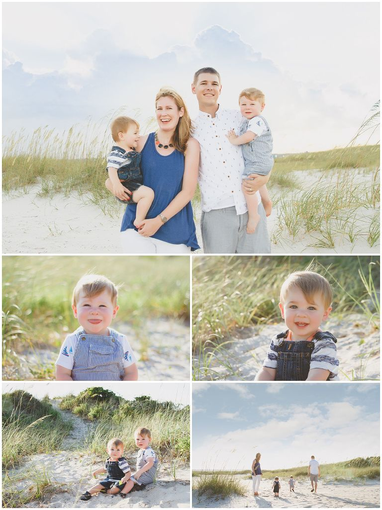 Wrightsville Beach Nc South End Family Photographer