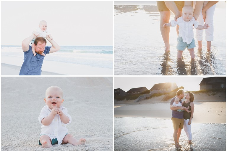 Topsail Island Beach Family Photographer