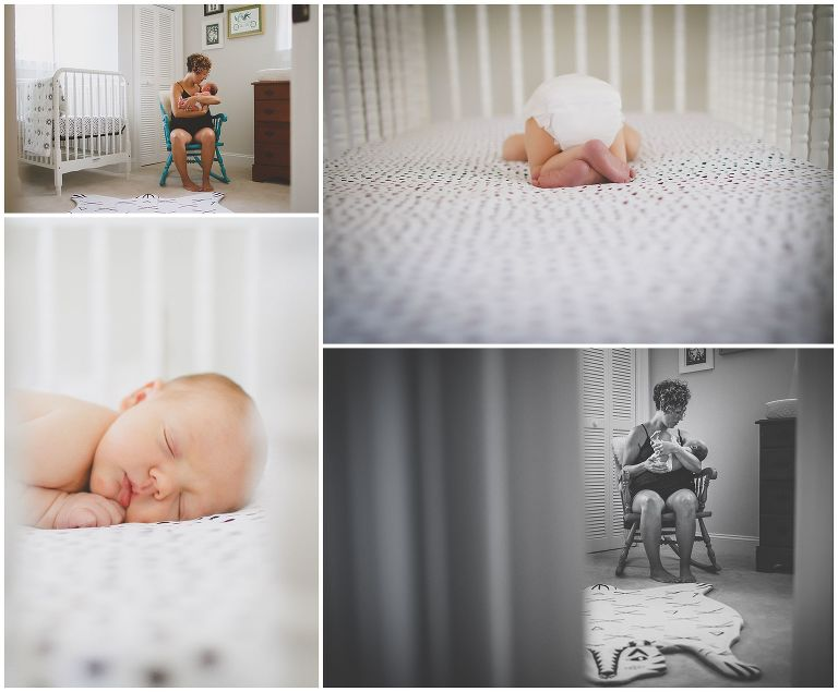 Wilmington NC In-Home Newborn Photography