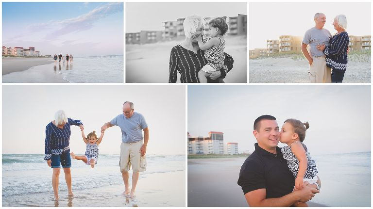 Topsail Island Beach Family Photography