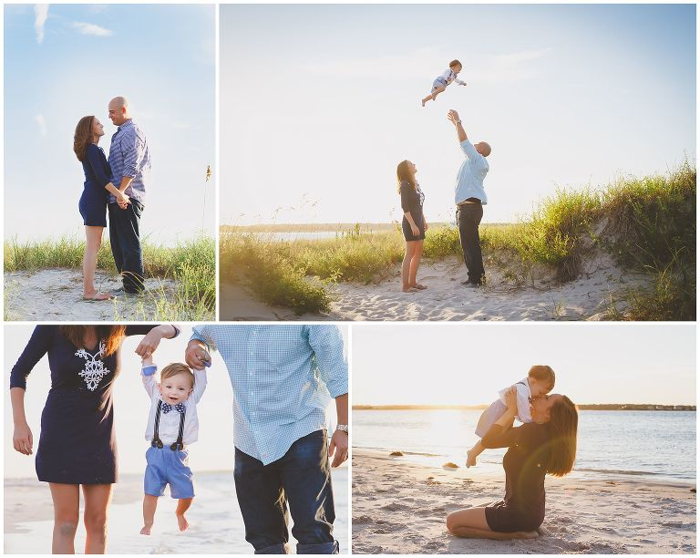 Wrightsville Beach Family Photography