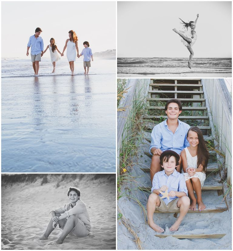 Topsail Island NC Family Photography
