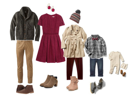 wardrobe ideas for a fall family photography session