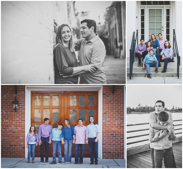 Alleys in Historic Wilmington NC Family Photographer