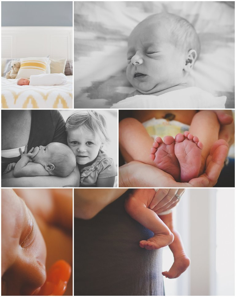 A Hampstead NC Lifestyle Newborn Photography Session by Erika Rigger Photography