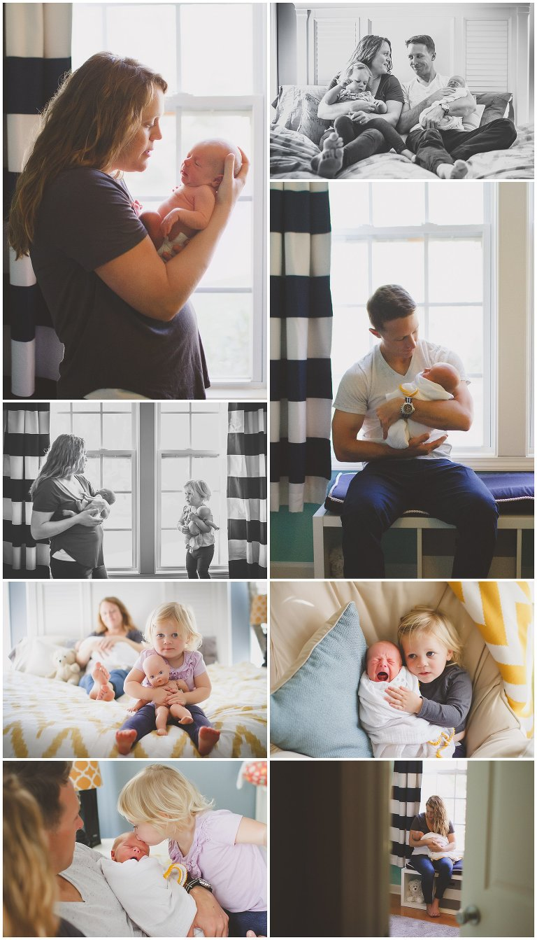 A sweet Hampstead NC Lifestyle Newborn Photography Session for Baby Sullivan