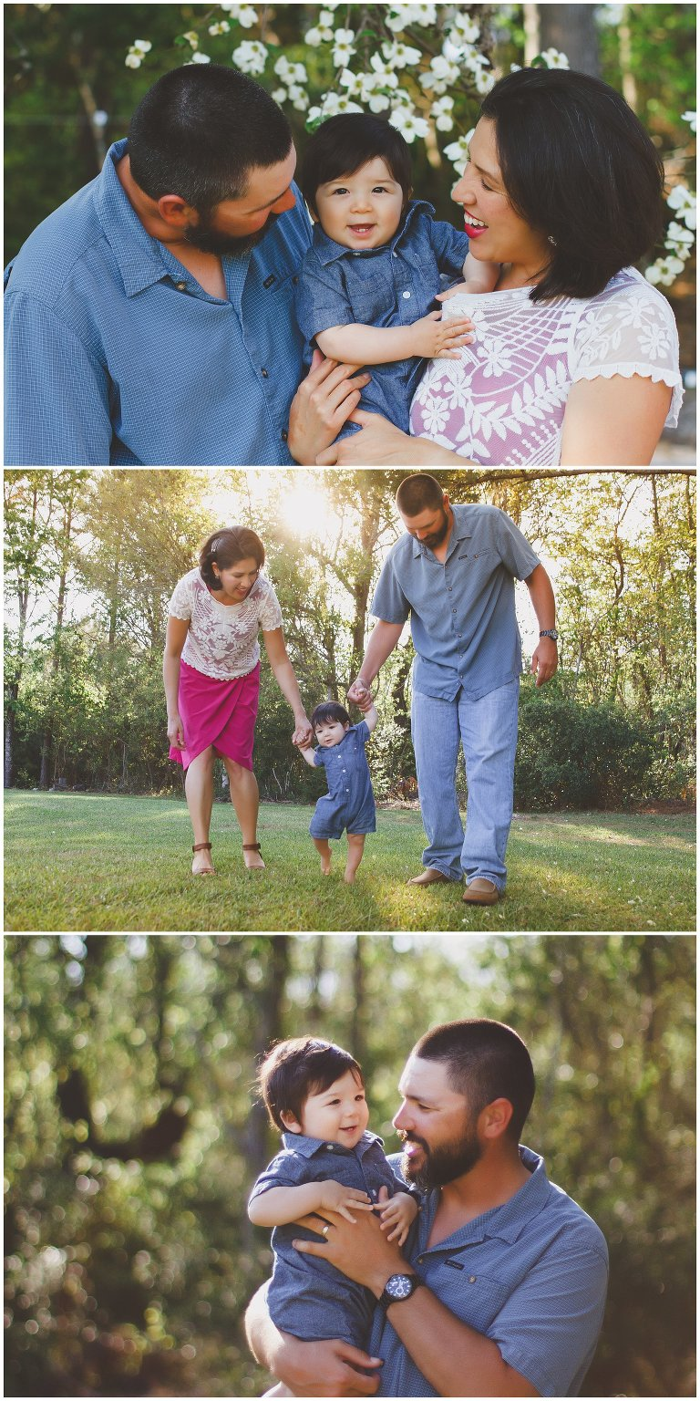 Family portraits captured in Hampstead NC