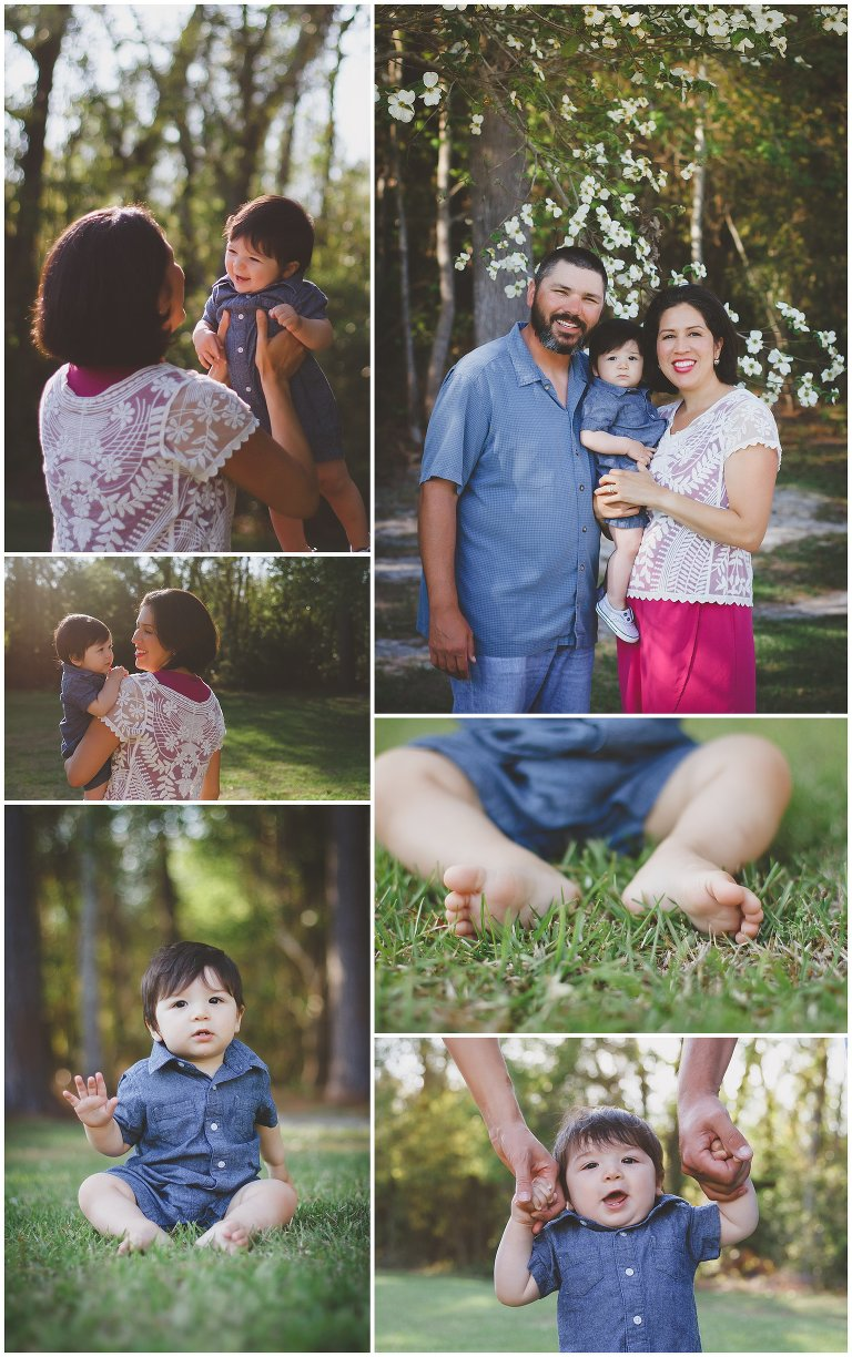 Hampstead NC Backyard Family Portraits