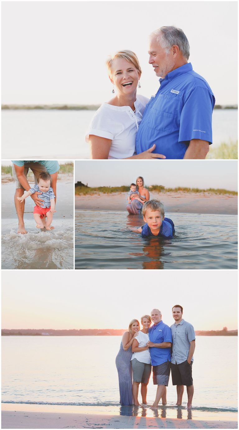 Wrightsvile Beach Lifestyle Family Photos