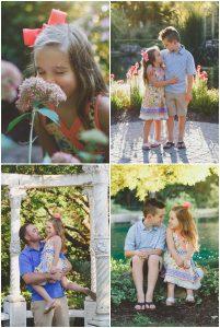 New Hanover Arboretum Whimsical Family Photos