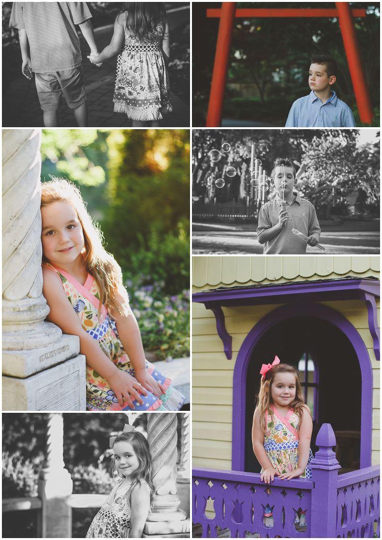 Family at New Hanover Arboretum