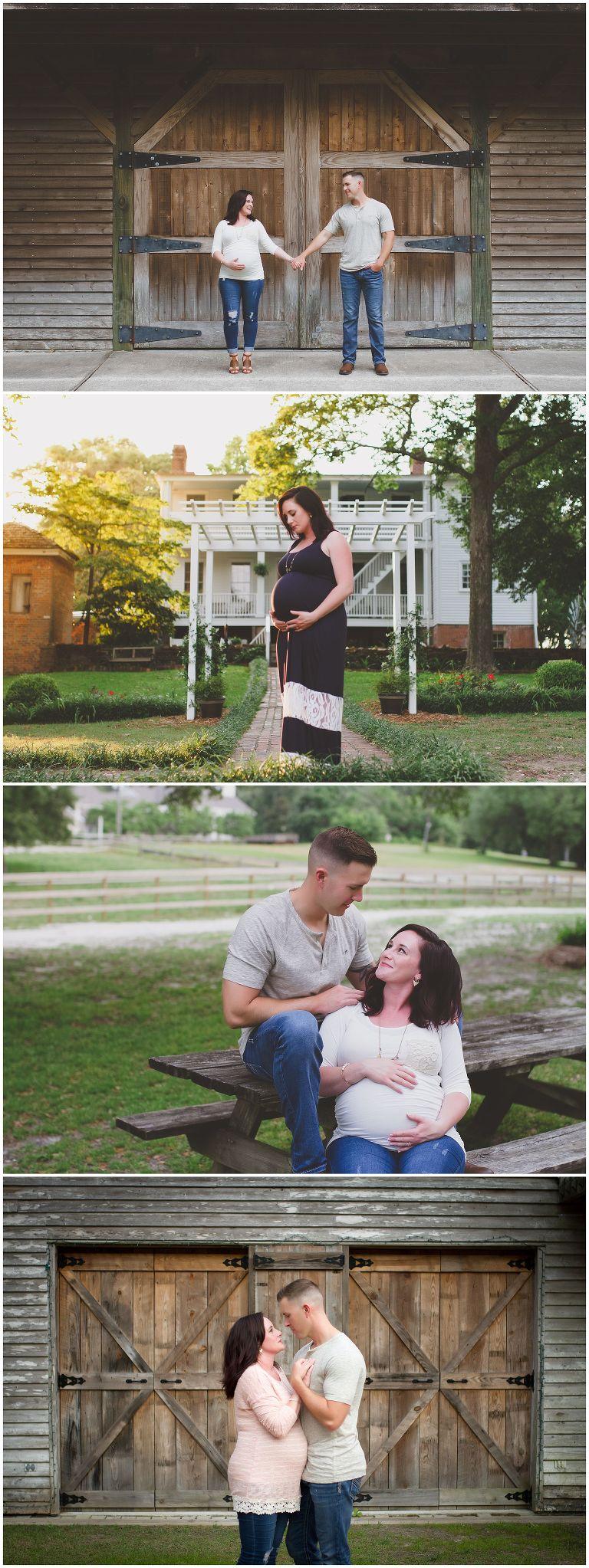 maternity photos in wilmington north carolina