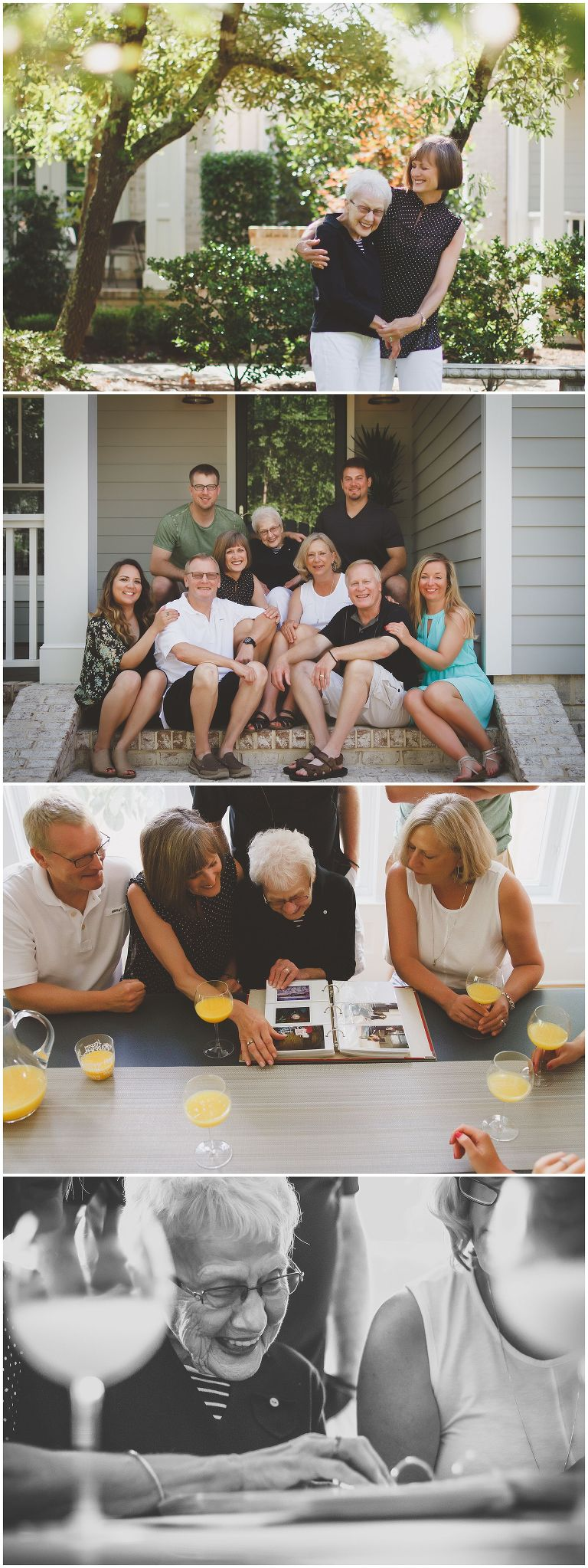 celebrating the matriarch with family photos