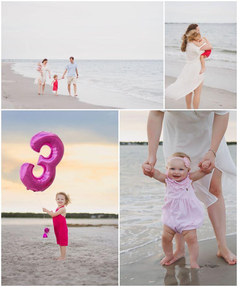 family vacation photos at wrightsville beach in north carolina