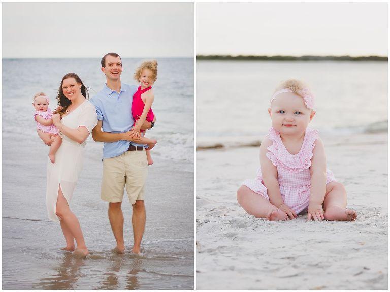 wrightsville beach dreamy family photos
