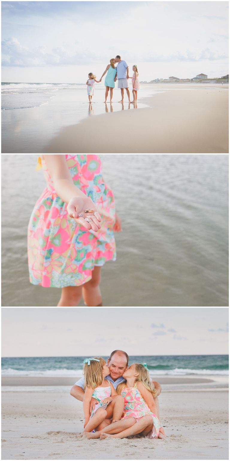 Topsail Beach Summer Family Portraits