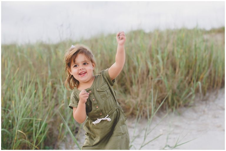 Child photography at Topsail Island NC