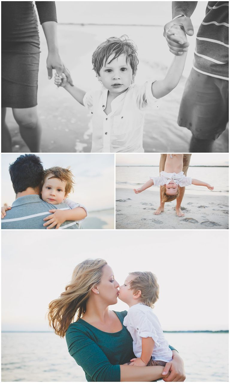 family photography session at wrightsville beach nc