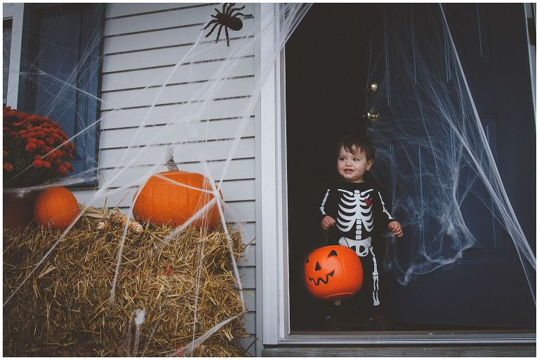 Halloween survival tips with toddlers